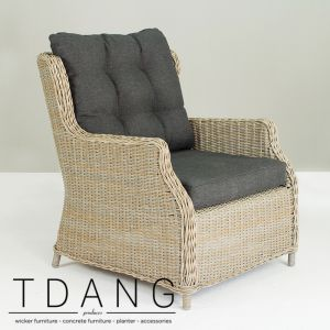 Driago Wicker Sofa 1 Seat (Code 2001)