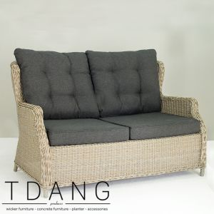 Driago Wicker Sofa 2 Seats (Code 3001 )