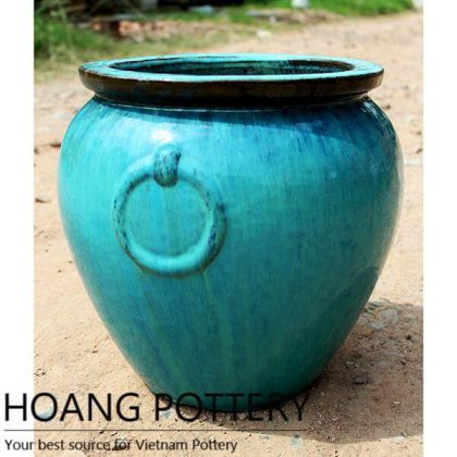 Vietnam Aqua Green Glazed Jar (HPPN021)