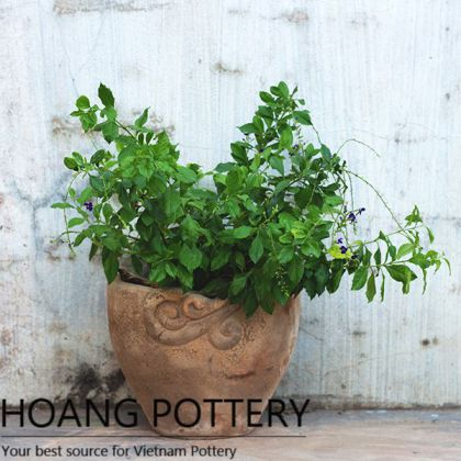 Antique Designs Terracotta Pot (HPTC025)